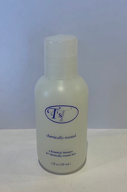 Chemically - treated shampoo