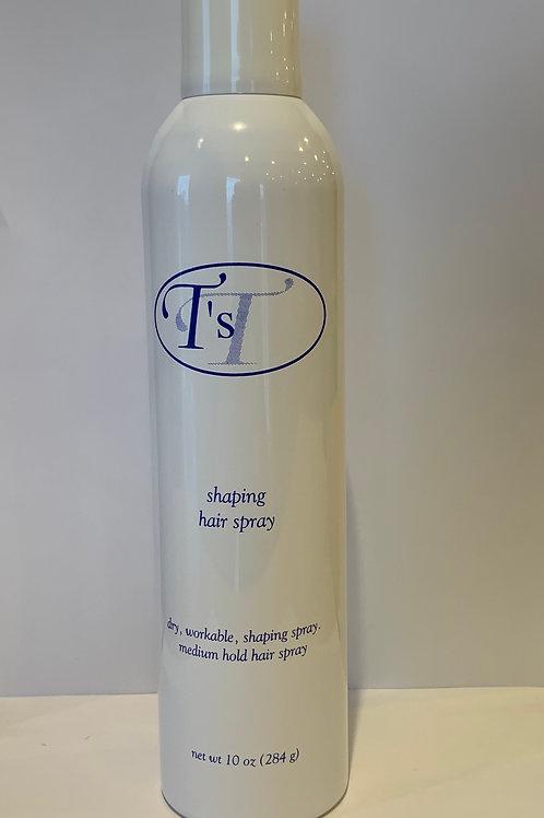 Shaping hair spray