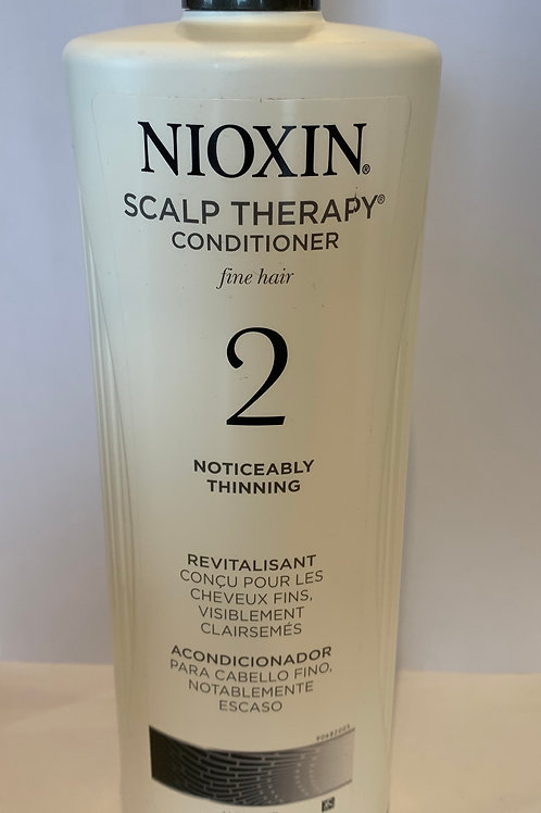 Nioxin 2 conditioner fine hair noticeably thinning