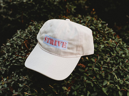 Soft Pink Block Strive Adjustable Cap