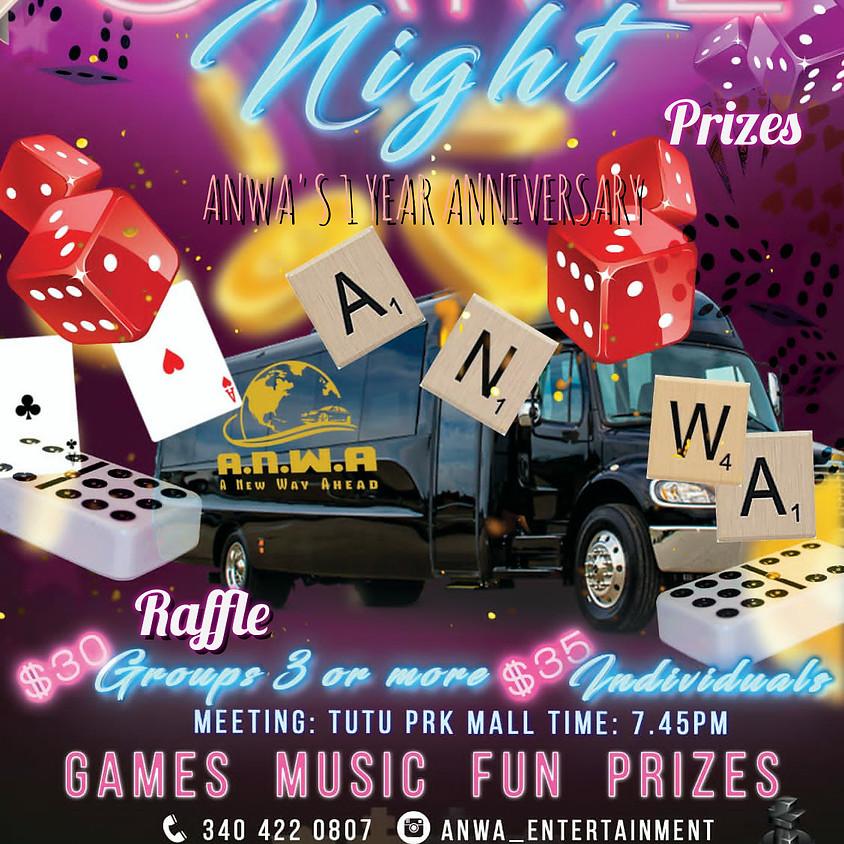ANWA Games Night - 1st Anniversary