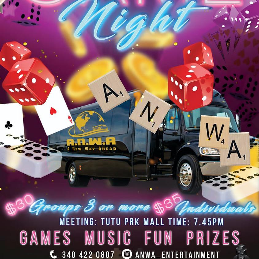 ANWA Games Night