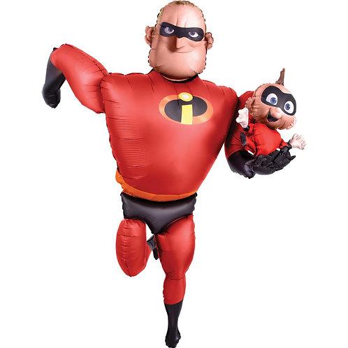 """Ходячая фигура """"Суперсемейка. Мистер Исключительный и Джек-Джек"""""""