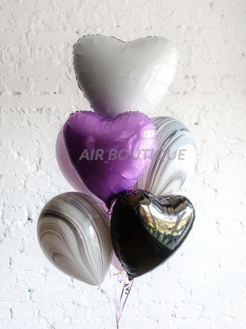 "Букет ""Violet Heart"""