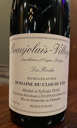 2018 Dom. Du Clos Du Fief 'La Roche', Beaujolais-Village