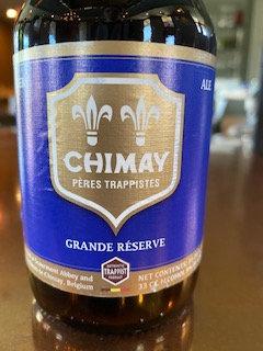 Chimay Grande Reserve Blue Label