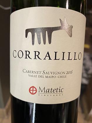 2016 Corralillo Cabernet Sauvignon