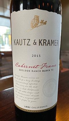 2015 Kautz & Kramer Cabernet Franc