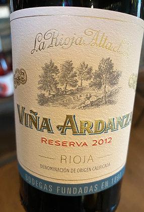 2012 Viña Ardanza Rioja Reserva