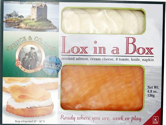 Salmon Lox in a Box