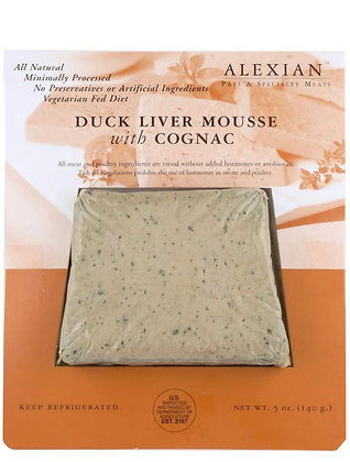 Alexian Duck Liver Paté with Cognac