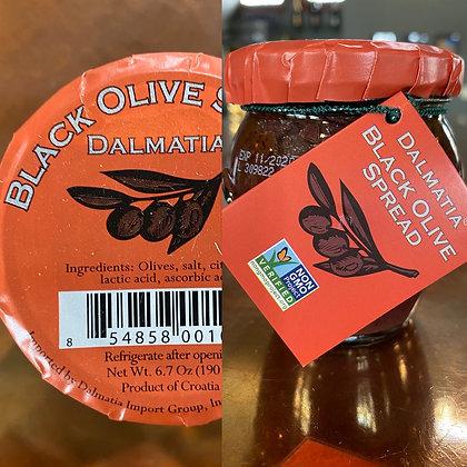 Dalmatia Black Olive Tapenade
