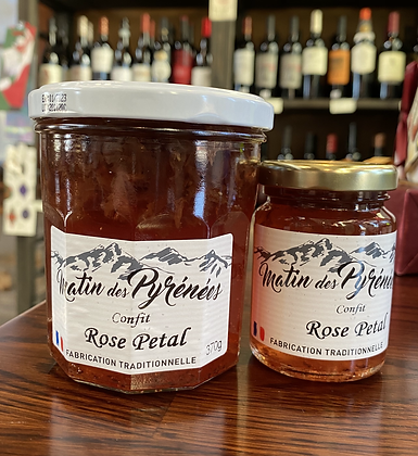 Rose Petal Confit Jam (Large)