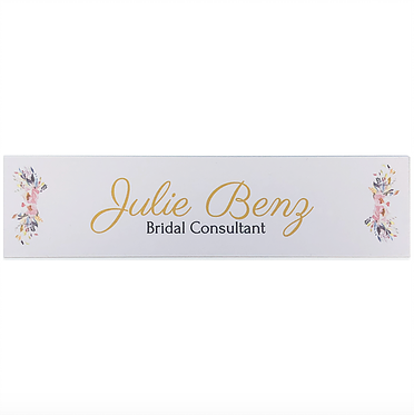 "2"" x 8"" Full Color Name Plate"