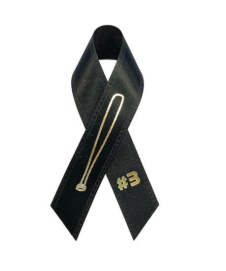 Satin Ribbon w/Text Pin Imprinted