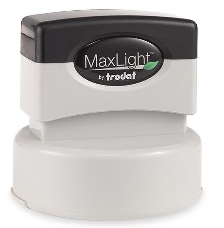 Maxlight Round Notary Stamp