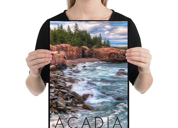 12x18 Acadia Poster 2