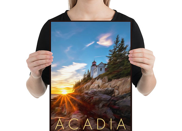 12x18 Acadia Poster 1