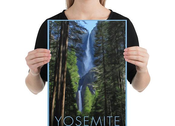 12x18 Yosemite Poster 1