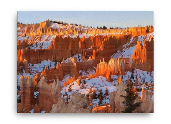 18x24 Bryce Canyon Canvas 1