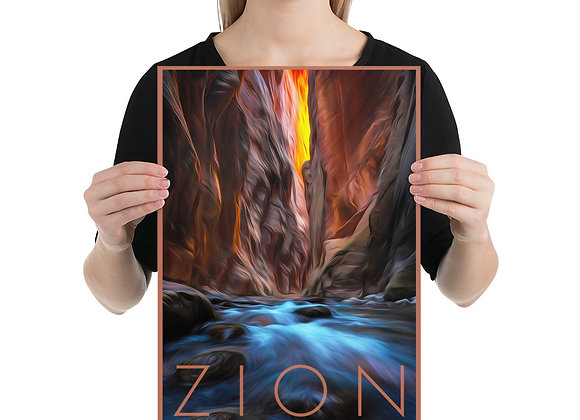 12x18 Zion Poster 2