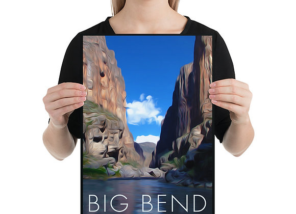 12x18 Big Bend National Park Poster 2