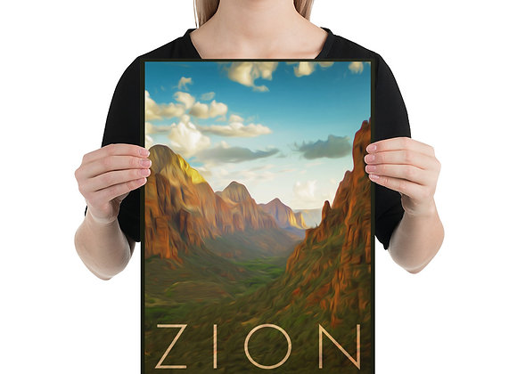 12x18 Zion Poster 1