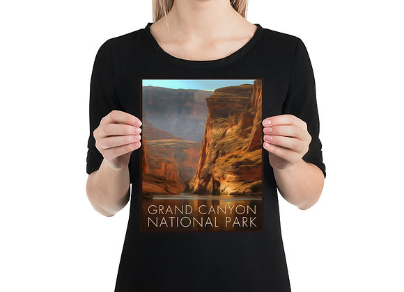 8x10 Grand Canyon Small Poster 2