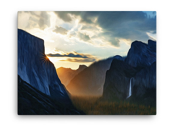 18x24 Yosemite Canvas 1