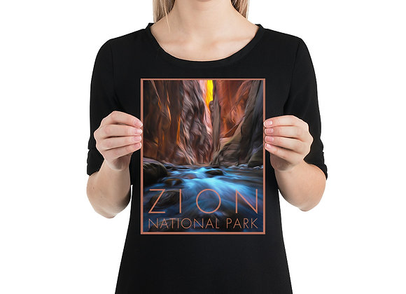 8x10 Zion Poster 2