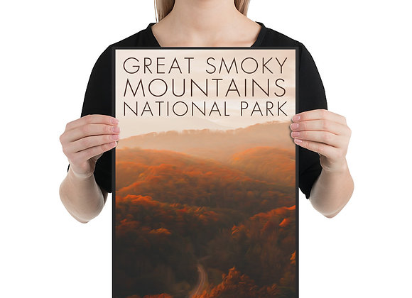 12x18 Great Smoky Mountains Poster 2