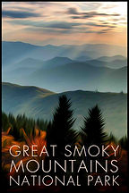 LR Preview Great Smoky Mountains Poster