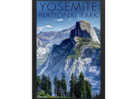 Framed 12x18 Yosemite Poster 2