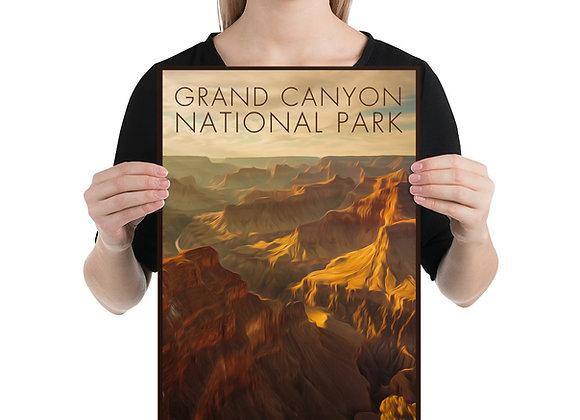 12x18 Grand Canyon Poster 1