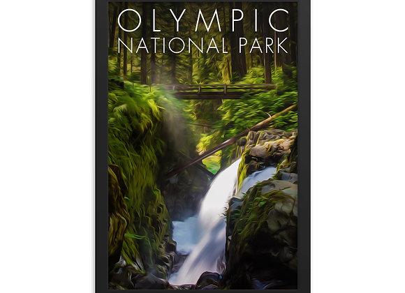 12x18 Framed Olympic Poster 2