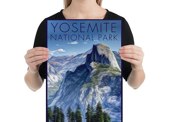 12x18 Yosemite Poster 2