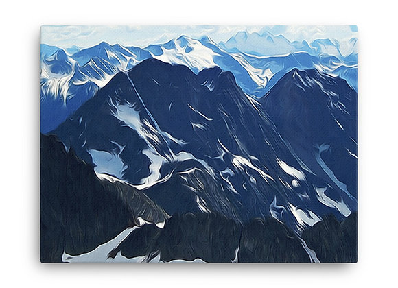 18x24 North Cascades Canvas 2