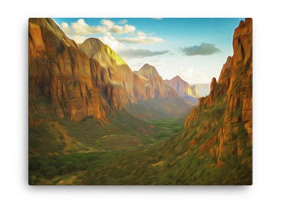 18x24 Zion Canvas