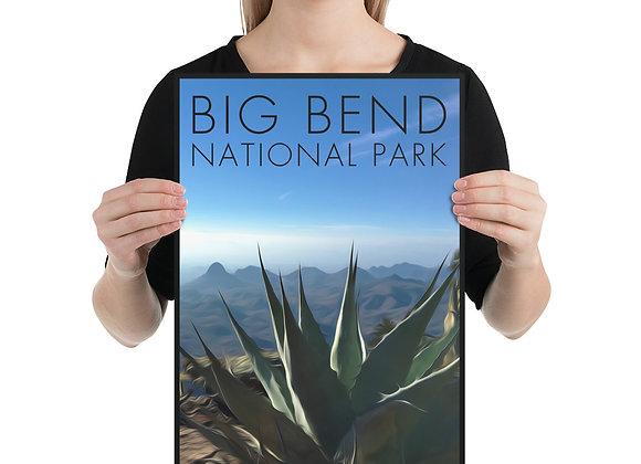 12x18 Big Bend National Park Poster 1