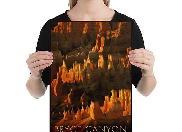 12x18 Bryce Canyon Poster 1