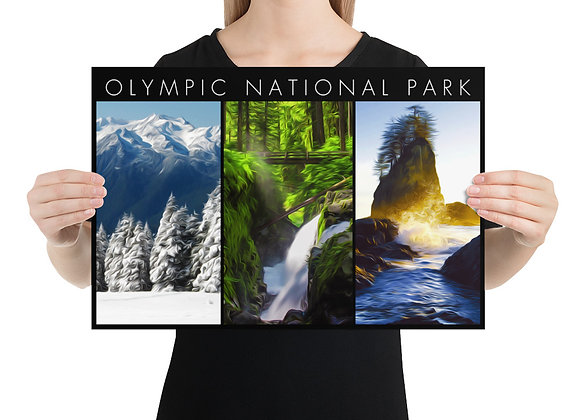 12x18 Horizontal Olympic Poster