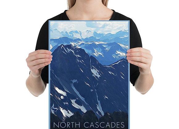 12x18 North Cascades Poster 2