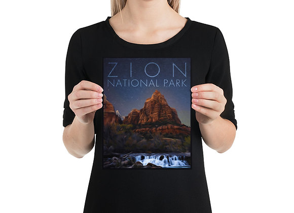 8x10 Zion Poster 3