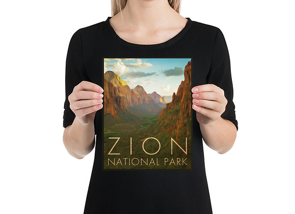 8x10 Zion Poster 1