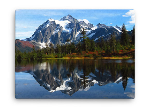 18x24 North Cascades Canvas
