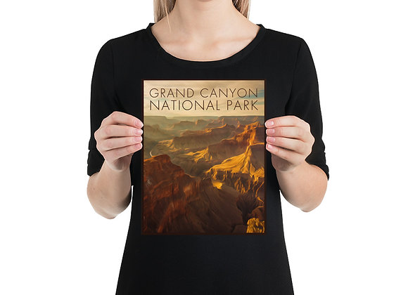 8x10 Grand Canyon Small Poster 1