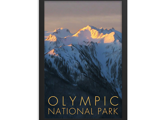 12x18 Framed Olympic Poster 1