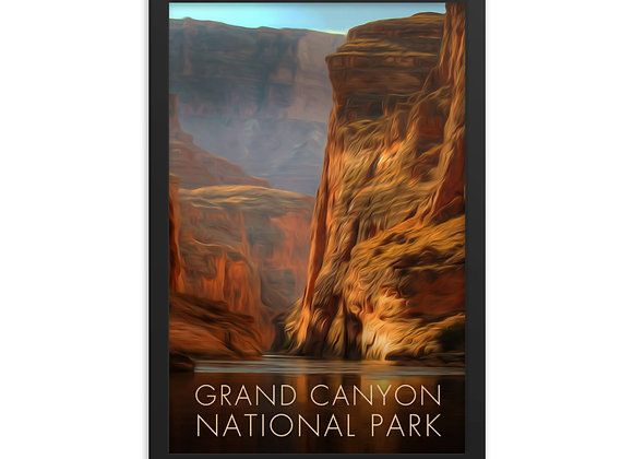 12x18 Grand Canyon Framed Poster 2