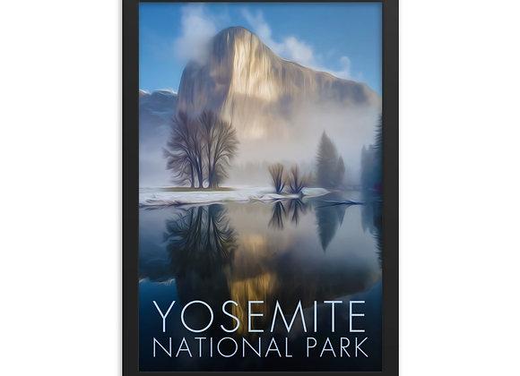 12x18 Framed Yosemite Poster 3