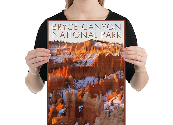 12x18 Bryce Canyon Poster 3